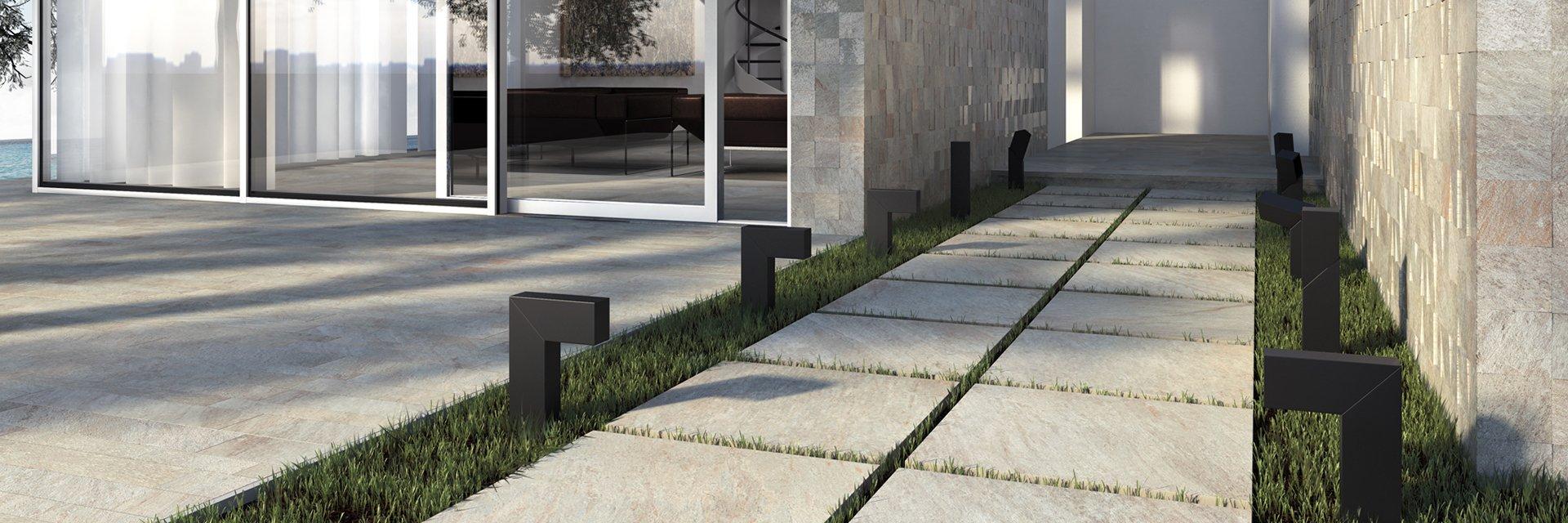 gres per esterni spessore 2 centimetri tipo pietra