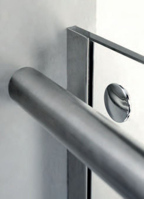 sostituzione box doccia con box doccia acciaio inox alluminio cristallo temperato
