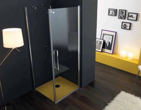 sostituzione box doccia con box doccia con ante battenti vetri trasparenti