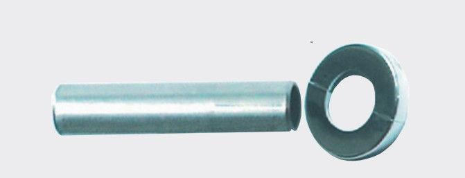 copritubi e rosetta cromata sostituzione termoarredo
