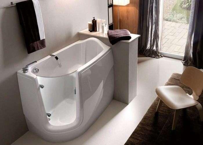 Prezzi Vasche Da Bagno Con Apertura Laterale : Vasca con porta per anziani o per disabili fornitura e posa