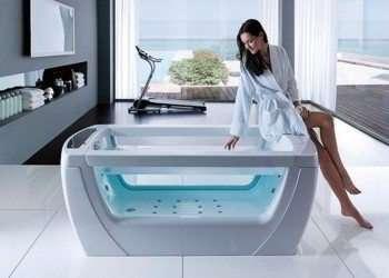 vasca da bagno in vetro