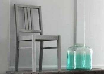 sedia in legno laccato