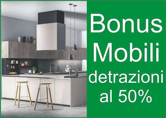 bonus mobili detrazioni al 50%