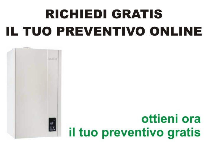 gratis preventivo costo caldaia a Venezia Mestre Chirignago