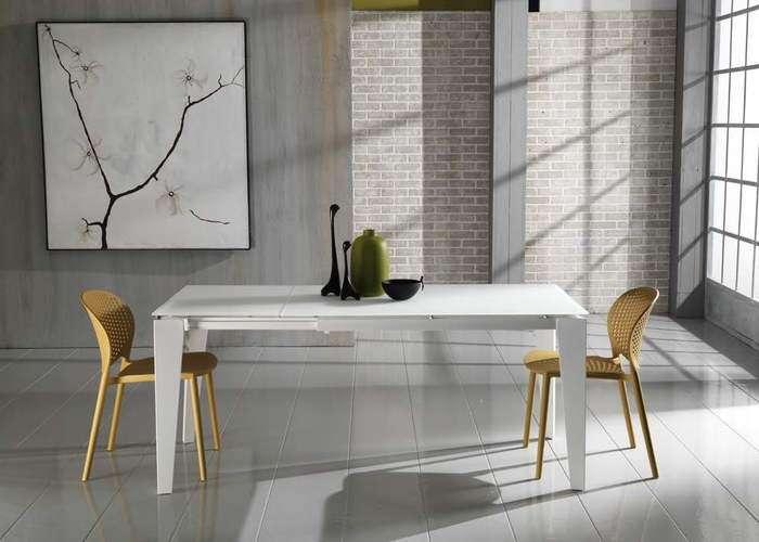 tavolo allungabile colore bianco - negozio a Venezia Mestre Chirignago