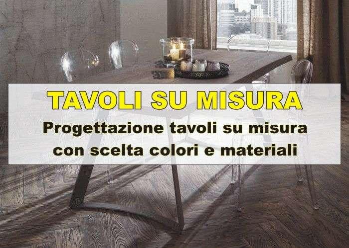 tavoli su misura offerti in negozio a Venezia Mestre