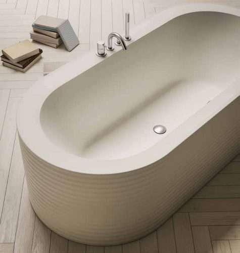 vasca da bagno moderna One Week free standing