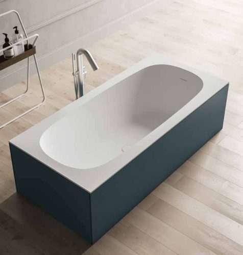 vasca da bagno Sciarada pannellata e colorata