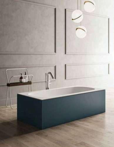 vasche da bagno pannellata e colorata Sciarada