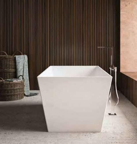 vasca da bagno moderna free standing modello Torino
