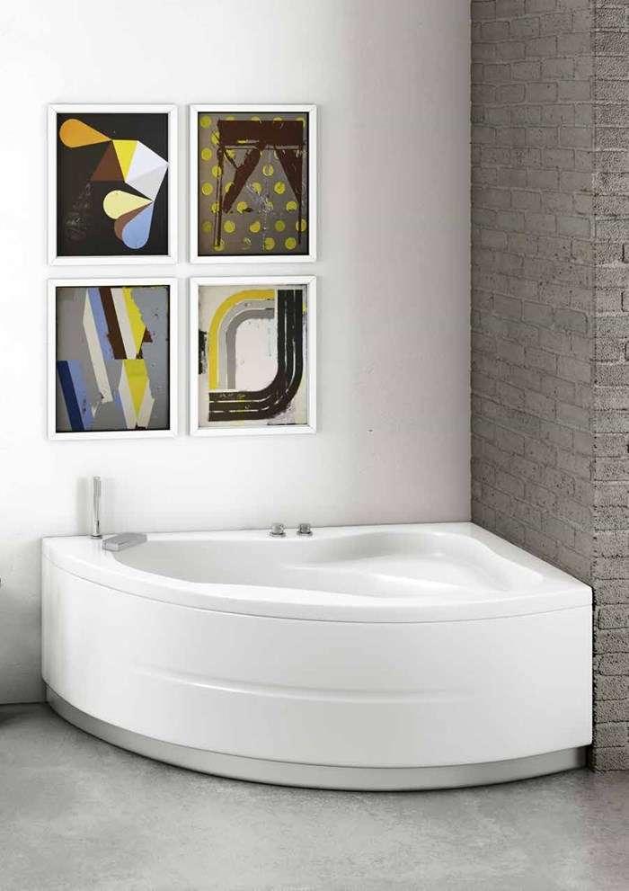 vasca da bagno angolare idromassaggio Camogli