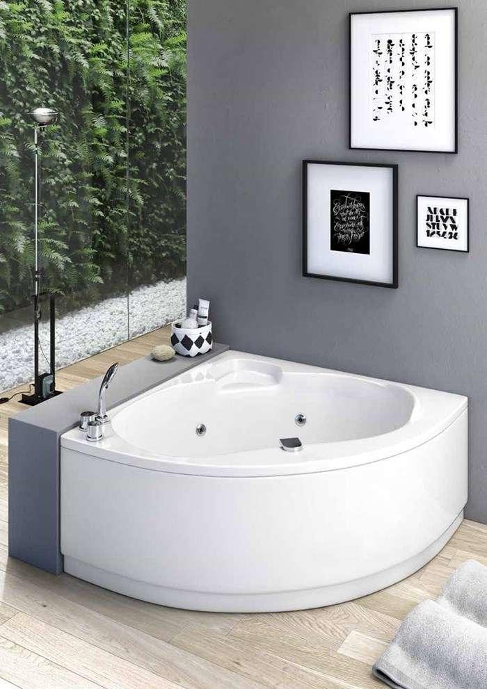 vasca da bagno angolare idromassaggio Corvara