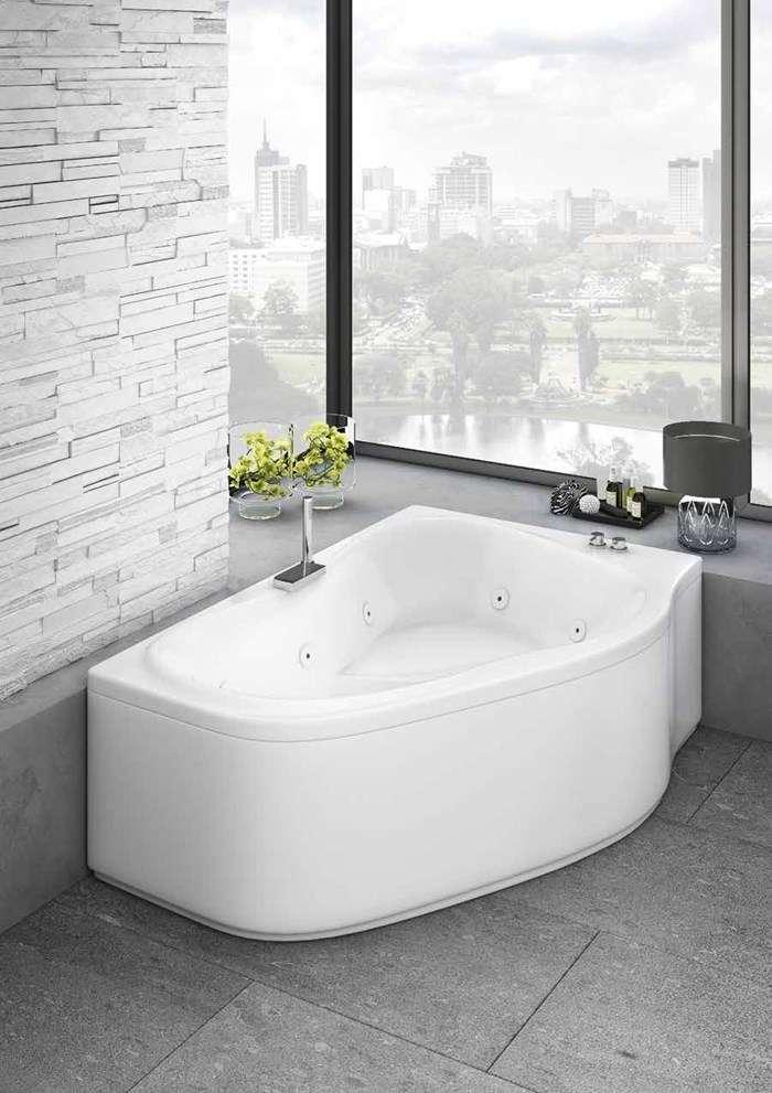 vasca da bagno angolare idromassaggio Lerici