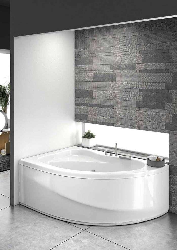 vasca da bagno idromassaggio angolare Sorrento