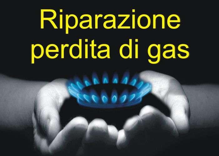 riparazione perdita di gas Venezia Mestre
