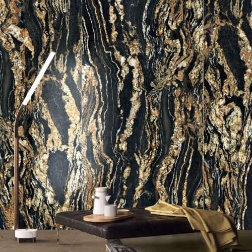 gres porcellanato effetto marmo black taurus
