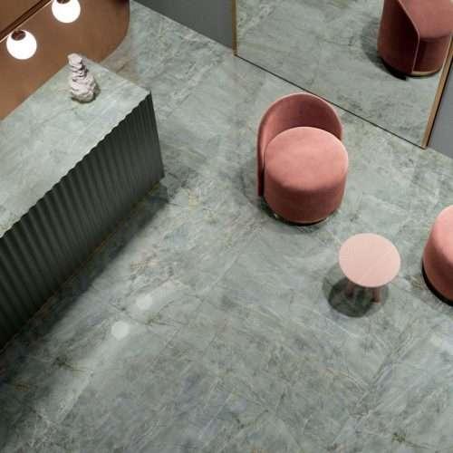 pavimento piastrelle effetto marmo