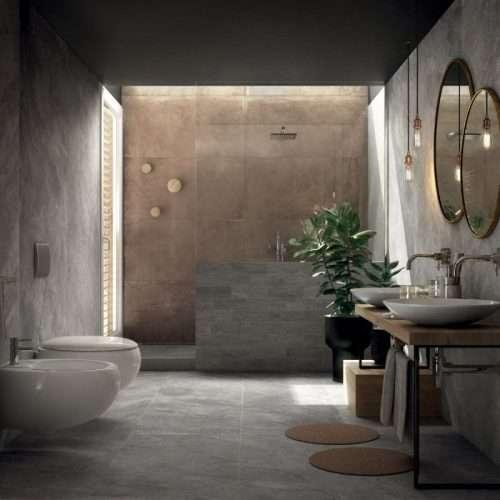 piastrelle per bagno gres porcellanato effetto pietra Mineral Venezia Treviso