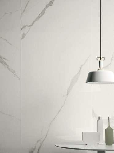 Boutique piastrella per cucina grande formato tipo marmo negozio marcon